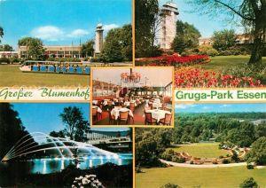 AK / Ansichtskarte Essen Ruhr Gaststaette Grosser Blumenhof Terrassen Blumenanger Grugapark Kat. Essen
