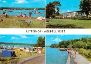 AK / Ansichtskarte Altenhof Werbellinsee Strand Campingplatz