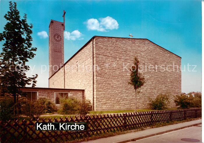 AK / Ansichtskarte Eppelheim Kirche Kat. Eppelheim