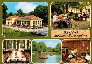 AK / Ansichtskarte Burgsteinfurt Bagno Restaurant Kat. Steinfurt