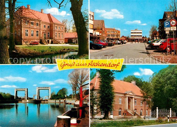 AK / Ansichtskarte Aschendorf Ems Emspartie Ortspartien Kat. Papenburg