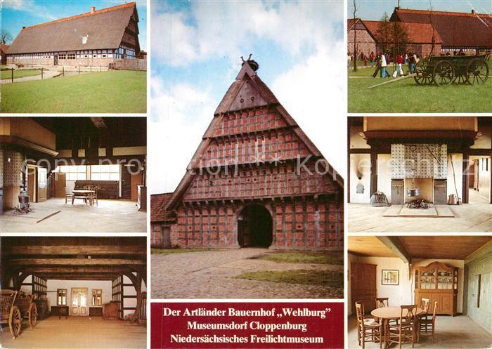 AK / Ansichtskarte Cloppenburg Artlaender Bauernhof Wehlburg im Museumsdorf Cloppenburg Kat. Cloppenburg