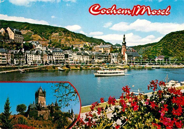 AK / Ansichtskarte Cochem Mosel Panorama Burg Cochem Kat. Cochem