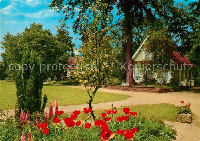 AK / Ansichtskarte Nordhorn Stadtpark Kat. Nordhorn