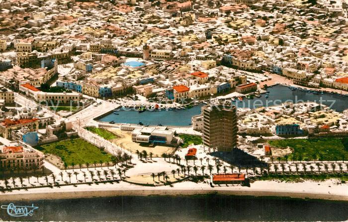 AK / Ansichtskarte Bizerte Fliegeraufnahme Kat. Tunesien