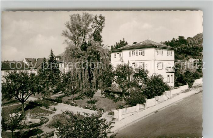 AK / Ansichtskarte Bad Koenig Odenwald Kur  Erholungsheim Haus Keller Kat. Bad Koenig