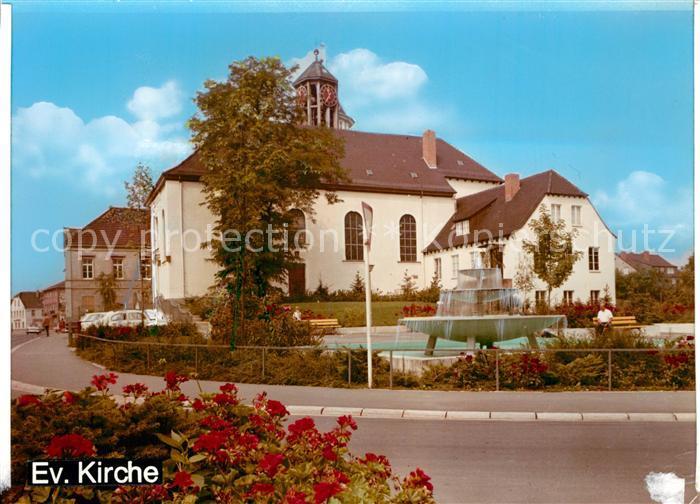 AK / Ansichtskarte Eppelheim Evangelische Kirche Kat. Eppelheim