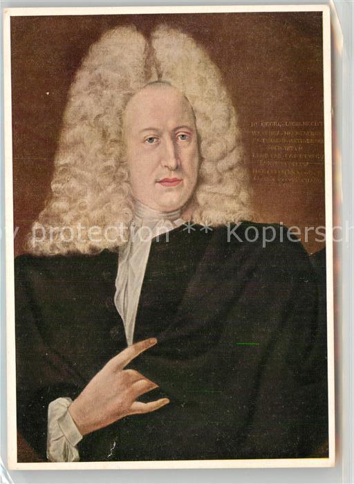 AK / Ansichtskarte Persoenlichkeiten Johann Georg Liebknecht  Kat. Persoenlichkeiten