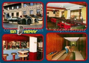 AK / Ansichtskarte Willingen Sauerland Pub Sir Henry  Kat. Willingen (Upland)
