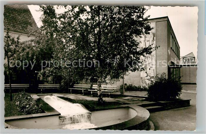 AK / Ansichtskarte Eppelheim Brunnenanlage Kat. Eppelheim