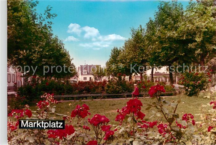 AK / Ansichtskarte Eppelheim Marktplatz Kat. Eppelheim