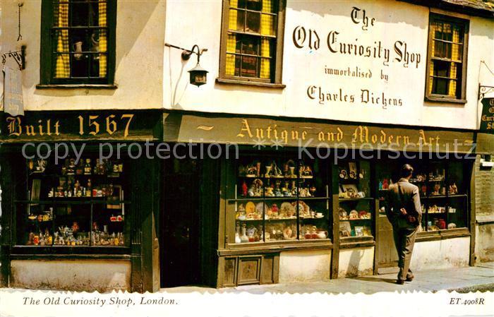 AK / Ansichtskarte London Old Curiosity Shop Kat. City of London