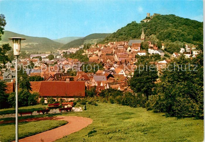 AK / Ansichtskarte Biedenkopf Luftkurort an der Lahn Burg Kat. Biedenkopf