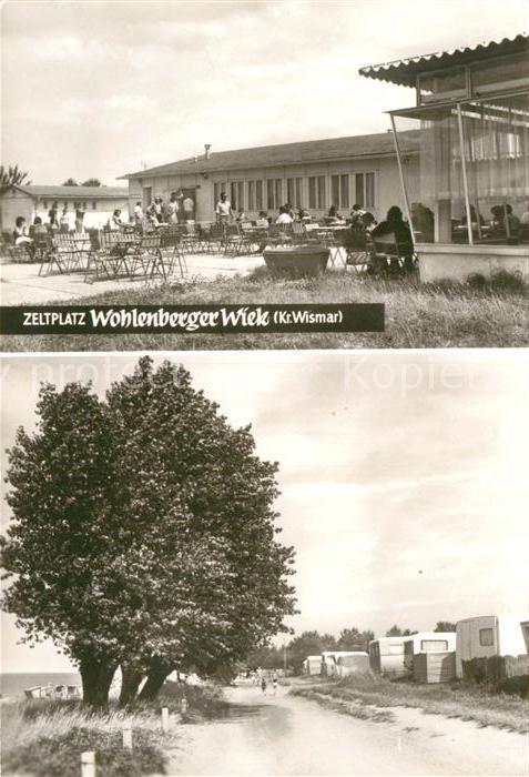 AK / Ansichtskarte Wismar Mecklenburg Zeltplatz Wohlenberger Wiek