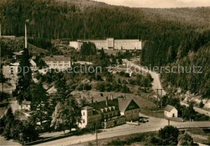 AK / Ansichtskarte Erlabrunn Erzgebirge Teilansicht  Kat. Breitenbrunn Erzgebirge