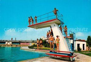 AK / Ansichtskarte Neustadt Coburg Schwimmbad Kat. Neustadt b.Coburg