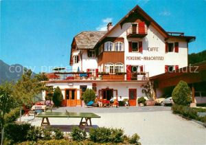 AK / Ansichtskarte Ortisei St Ulrich Cafe Pension Miraortisei