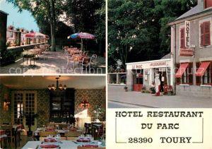 AK / Ansichtskarte Toury Hotel du Parc Kat. Toury