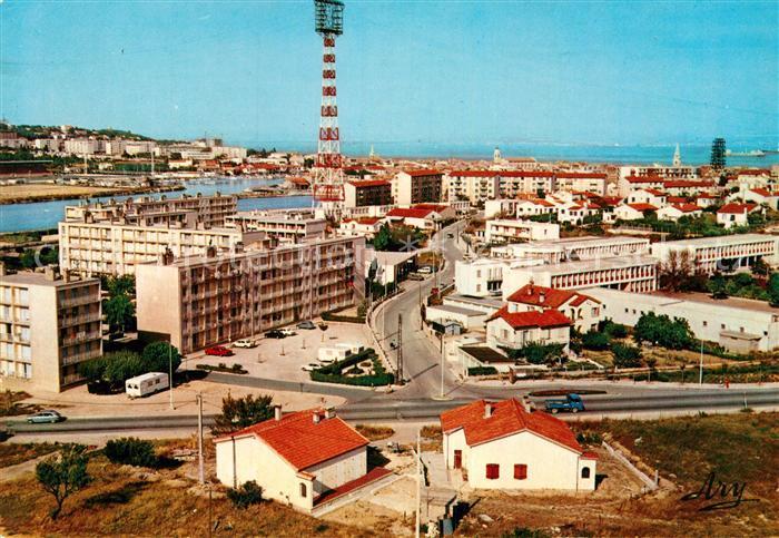 AK / Ansichtskarte Martigues Teilansicht Funkturm Kat. Martigues