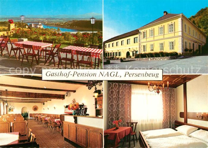 AK / Ansichtskarte Persenbeug Gottsdorf Gasthof Pension Nagl Kat. Persenbeug Gottsdorf