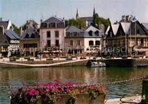 AK / Ansichtskarte Auray Le port et les vieilles maisons de Saint Goustan Kat. Auray