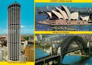 AK / Ansichtskarte Sydney New South Wales Australia Square Opera House Harbour Bridge Kat. Sydney
