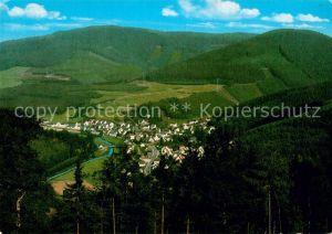 AK / Ansichtskarte Langenei Panorama Kat. Lennestadt