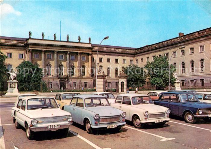 AK / Ansichtskarte Berlin Humboldt Universitaet Hauptstadt der DDR Kat. Berlin