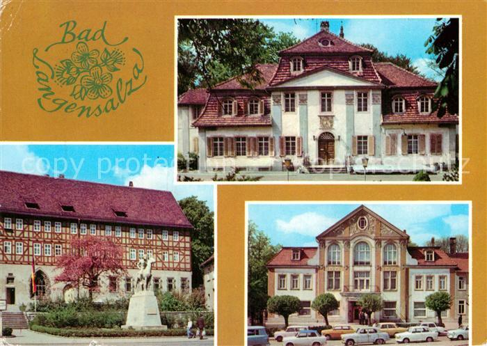 AK / Ansichtskarte Bad Langensalza Klubhaus der Kurverwaltung Heimatmuseum Denkmal Kulturhaus Kat. Bad Langensalza