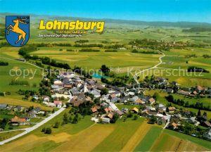 AK / Ansichtskarte Lohnsburg Kobernausserwald Fliegeraufnahme Badesee Kat. Lohnsburg am Kobernausserwald