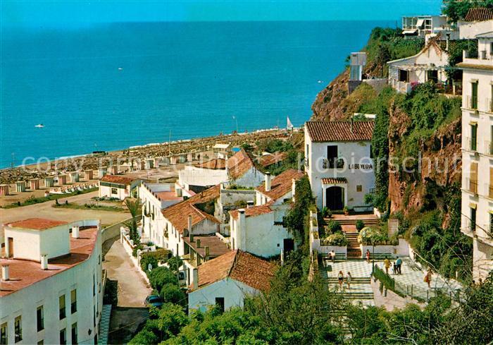 AK / Ansichtskarte Torremolinos Barrio y playa del Bajondillo Kat. Malaga Costa del Sol