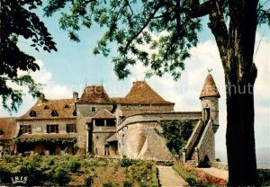 AK / Ansichtskarte Loubressac Vieux manoir gothique Kat. Loubressac