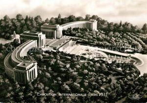 AK / Ansichtskarte Exposition Internationale Paris 1937 Palais du Trocadero  Kat. Expositions