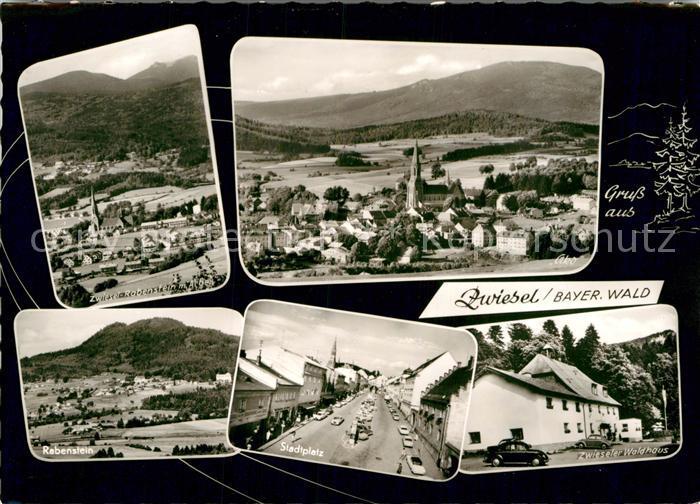 AK / Ansichtskarte Zwiesel Niederbayern Rabenstein Zwieseler Waldhaus Stadtplatz  Kat. Zwiesel