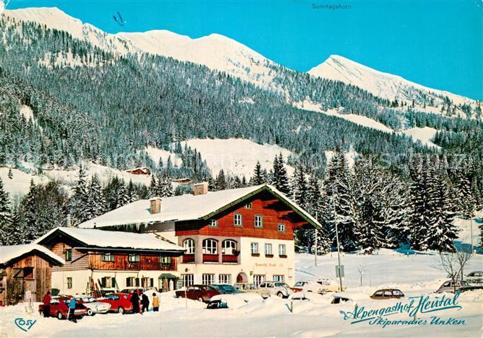 AK / Ansichtskarte Unken Alpengasthof Heutal Kat. Unken