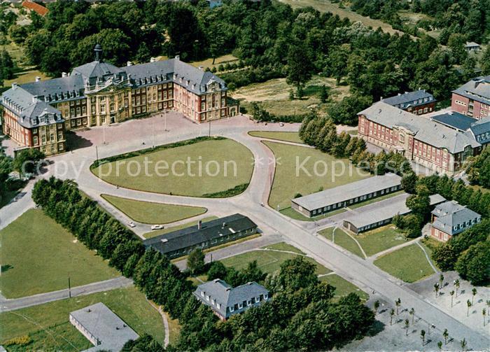 AK / Ansichtskarte Muenster Westfalen Schloss Universitaet Fliegeraufnahme Kat. Muenster