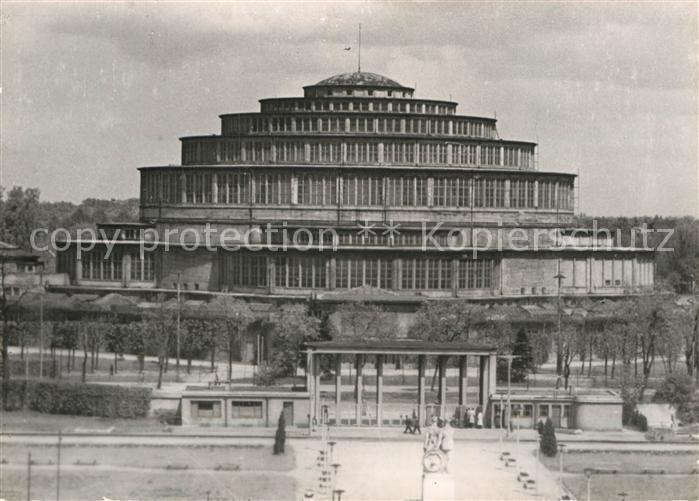 AK / Ansichtskarte Wroclaw Hala Ludowa Jahrhunderthalle Historisches Gebaeude Kat. Wroclaw Breslau