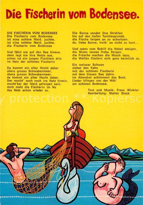 die fischerin vom bodensee lied