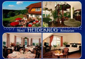AK / Ansichtskarte Gruenplan Hotel Restaurant Heidekrug