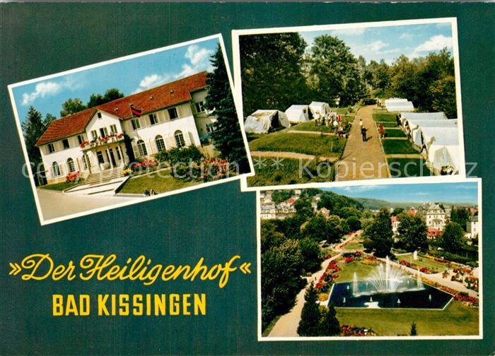 AK / Ansichtskarte Bad Kissingen Der Heiligenhof Kat. Bad Kissingen