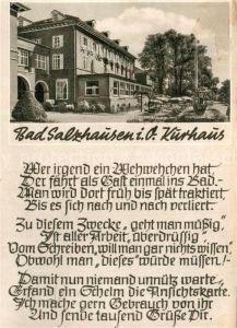 AK / Ansichtskarte Bad Salzhausen Kurhaus  Kat. Nidda