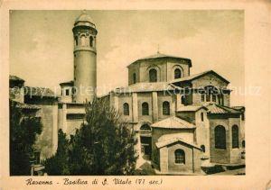AK / Ansichtskarte Ravenna Italia Basilica S. Vitale Kat. Ravenna