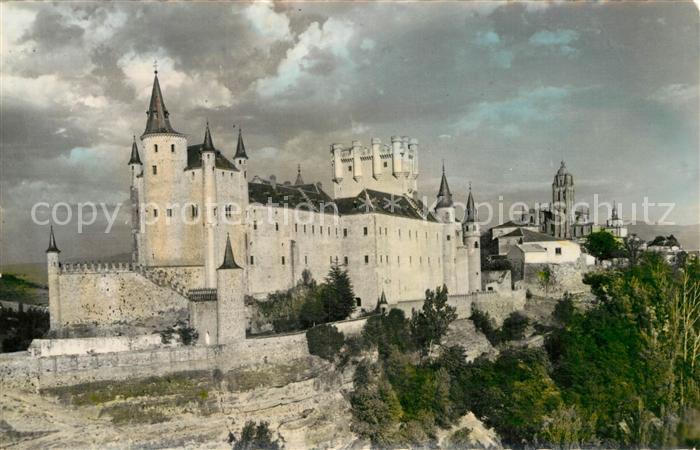 AK / Ansichtskarte Segovia Alcazar Catedral  Kat. Segovia