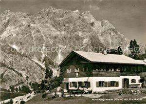 AK / Ansichtskarte Ramsau Berchtesgaden Wimbachgriesalm Hochkalter Kat. Ramsau b.Berchtesgaden