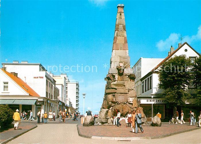 AK / Ansichtskarte Norderney Nordseebad Denkmal Haus Toni Haus Nordland  Kat. Norderney