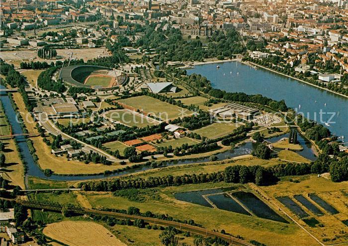 AK / Ansichtskarte Hannover Maschsee Stadion Niedersachsen  Kat. Hannover