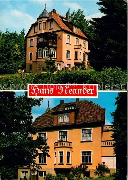 AK / Ansichtskarte Bad Pyrmont Haus Neander  Kat. Bad Pyrmont