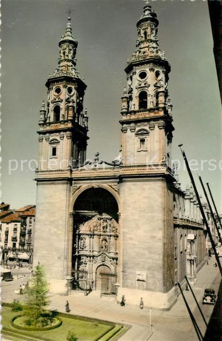 AK / Ansichtskarte Logrono Torres gemelas de la Redonda Kat. Logrono