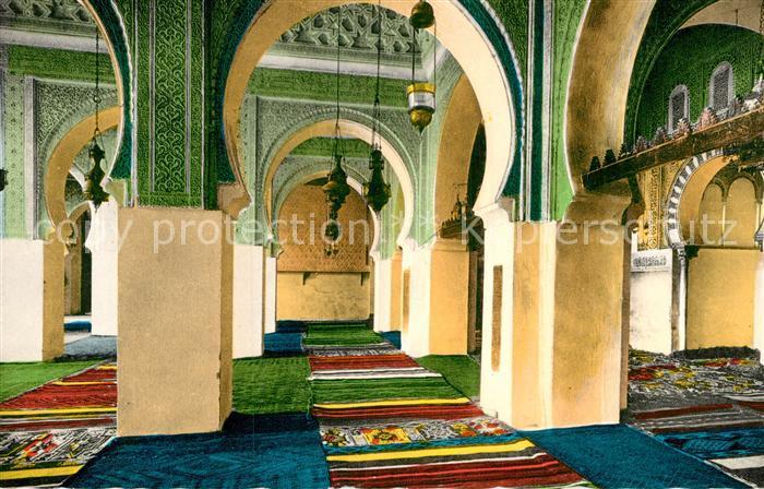 AK / Ansichtskarte Tlemcen Sidi Bou Medine Interieur de la Mosquee Kat. Algerien