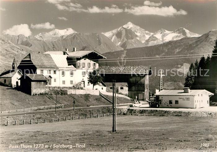 AK / Ansichtskarte Pass Thurn Alpenpass Gebirge Kat. Mittersill